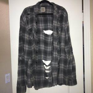 LF distressed flannel